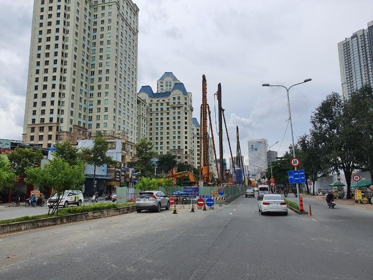 Nâng cấp đường Nguyễn Hữu Cảnh